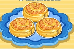 Winnie Pizza Puff Pinwheels