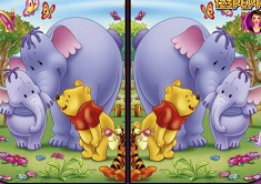 Winnie the Pooh 6 Differences