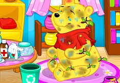 Winnie the Pooh at the Doctor - Jogos Online