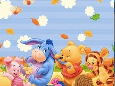 Winnie the Pooh Babies Puzzle