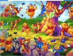 Winnie the Pooh Friends Puzzle