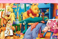 Winnie the Pooh Puzzle Mix Up