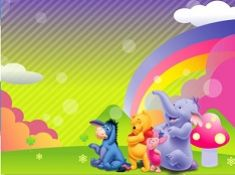 Winnie the Pooh Rainbow Puzzle