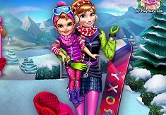 Winter Games Dress Up