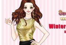 Winter Prom Dresses Anime , Girl Games