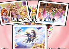Winx Club Spin Puzzle