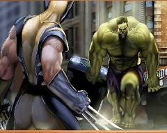 Wolverine vs Hulk Puzzle