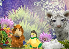 the wonder pets adventures in wonderland game