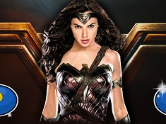 Wonder Woman Spot the Numbers