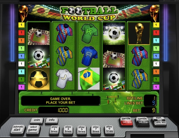 World cup slots by confederation