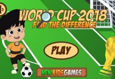 World Cup 2018 Find the Differences