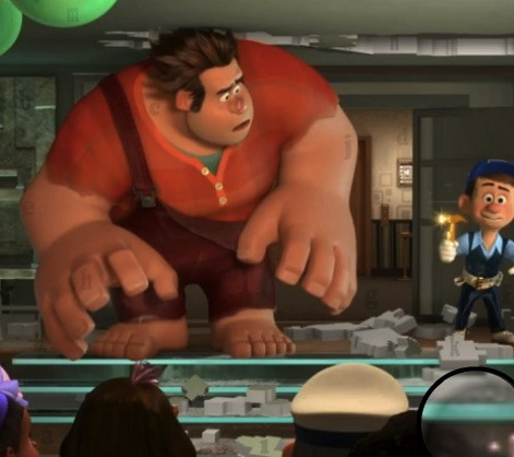 Wreck it Ralph Hidden Letters