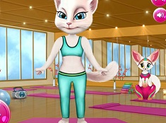 Yoga with Talking Angela