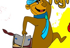 Yogi Bear Coloring