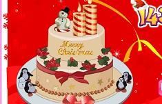 Yummy Christmas Cake Deco