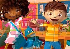 Zack and Quack Puzzle