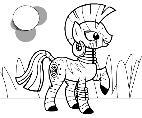 zecora coloring