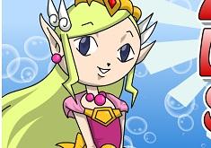Zelda Lolita Style Coloring