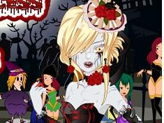 Zombie Princess Facial Makeover