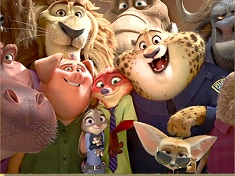 Zootopia Characters Puzzle